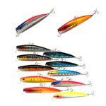 Custom Plastic Fishing Lure With Hook-11.5 cm L