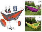 Custom Folding Hammock Outdoor Swing Double Hammock Travel Camping Hammock