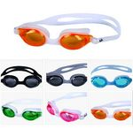 Custom Antifog and UV Protection Swimming Goggles With Adjustable Strap For Adult