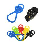 Custom Anti-Slip Ice Traction Grips Cleats Silicone Crampons