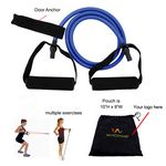 Custom Exercise Stretch Bands For Resistance Training, Rope/Band Length 47