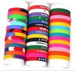Custom Silkscreen Silicone Wristbands FREE Shipping