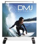 Custom Outdoor Banner Wall Stand