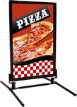 Custom Wind Sign Curb Frame Banner Stand