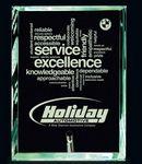 Custom Preston Jade Glass Award (4x6)