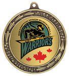 Custom 2 5/8 Filigree 2 Holder Medal