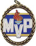 Custom 2 3/8x2.75 Negative Space MVP Medal