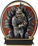 Custom 5.25 Blow Out Football Male Trophy