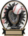 Custom 5 Blow Out Baseball Generic Trophy