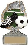 Custom 5 Vintage Wreath Soccer Trophy