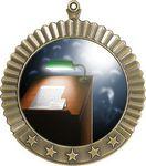 Custom 2.75 Star 2 Holder Medal