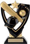 Custom 6.5 Apex Shield Baseball Trophy