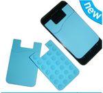 Custom Silicone smart phone wallet II
