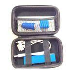 Custom Power Bank Travel Kit/ Tech Charger Set