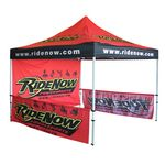 Custom 10x10 Pop Up Tent, Full Color with Frame