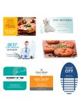 Custom Business Card Sticker (Full Color)