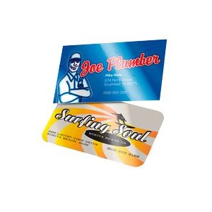 "Full Color 22pt Photo Luster Business Card - Printed on 1 Side (3 1/2""x2"")"