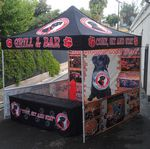 Custom 10x10 Vendor Tent - Full Color Imprint