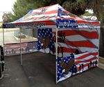 Custom 10x20 Vendor Tent - Full Color Imprint / INCLUDES HEAVY DUTY ROLL BAG