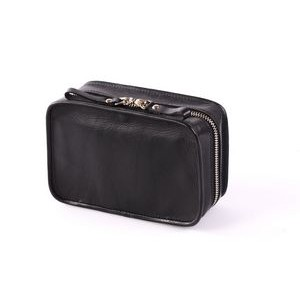 Carryall Case Calf w/Vachetta Leather Trim - Onyx