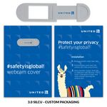 Custom Webcam Cover 3.0 - Silver + Custom Packaging