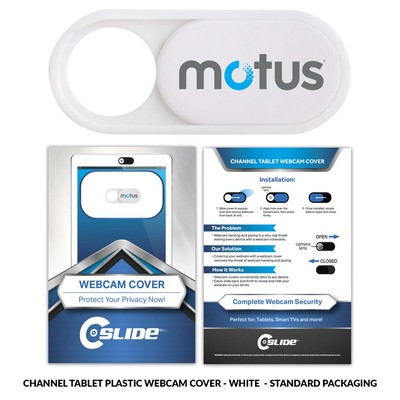 Webcam Cover Channel Tablet Plastic Custom Packaging