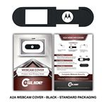 Custom Webcam Cover A2A - Black + Custom Packaging