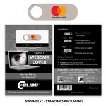 Custom Webcam Cover Swivel Metal + Standard Packaging