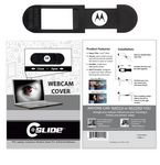 Custom Webcam Cover A2A - Black with Standard Packaging
