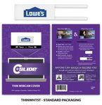 Custom Webcam Cover Thin White + Standard Packaging