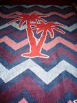 Custom Woven Beach Towel