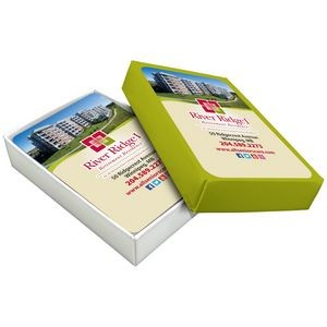 Personalized Semi-rigid cardboard boxes - Playing cards (Bridge format)
