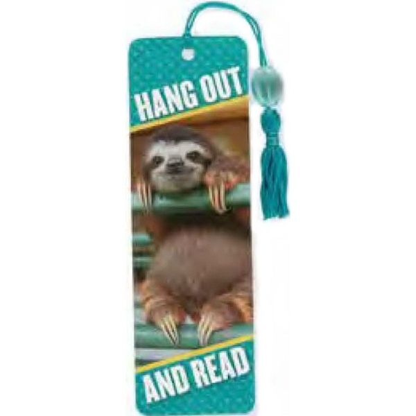 sloth-custom-book-mark