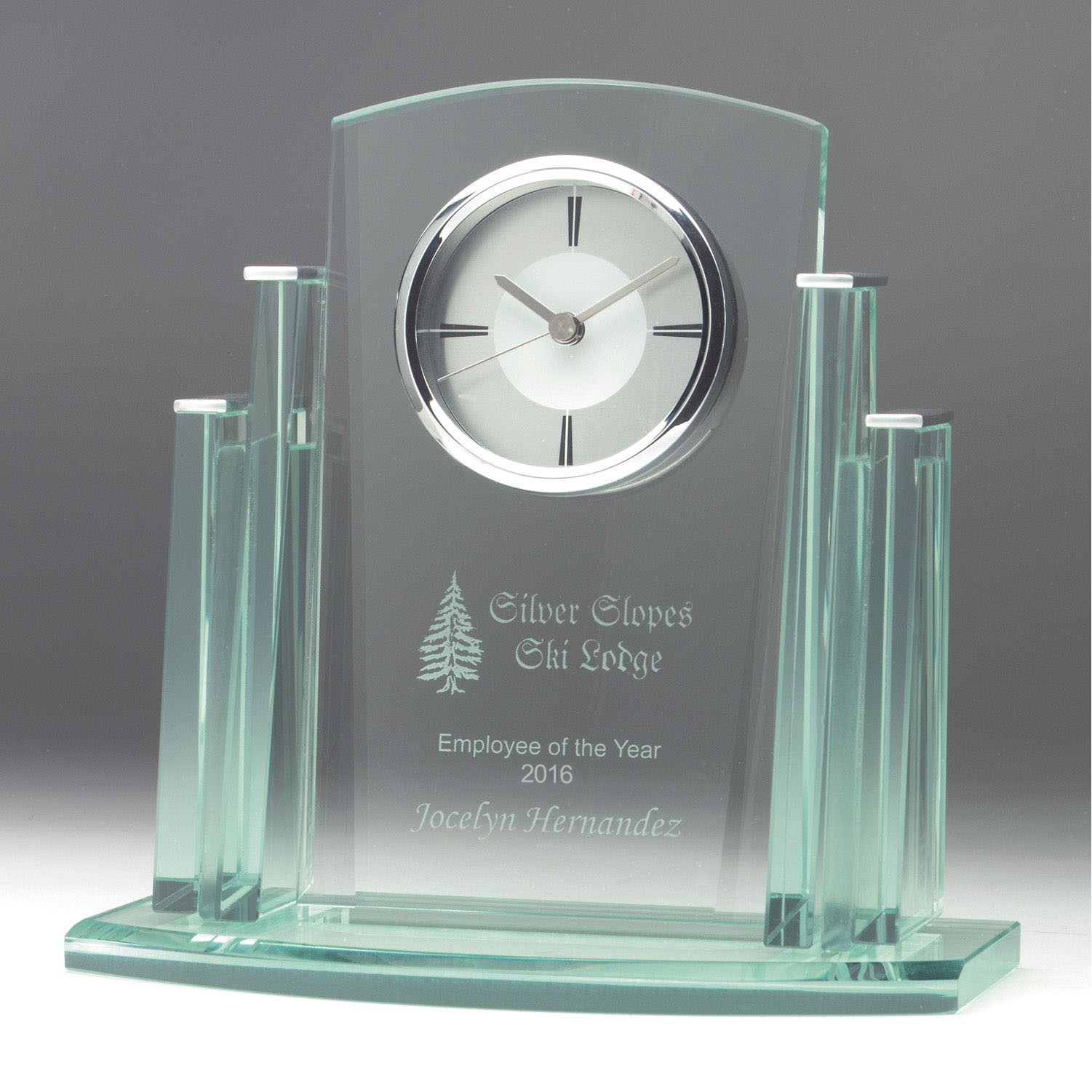 corporate branded clock