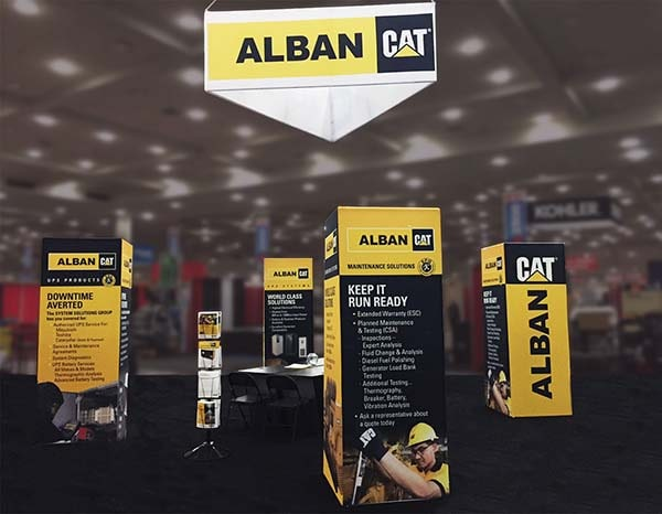 custom- booth- tradeshow- custom trade show booth- Alban Cat- eXpobranders- local- VA