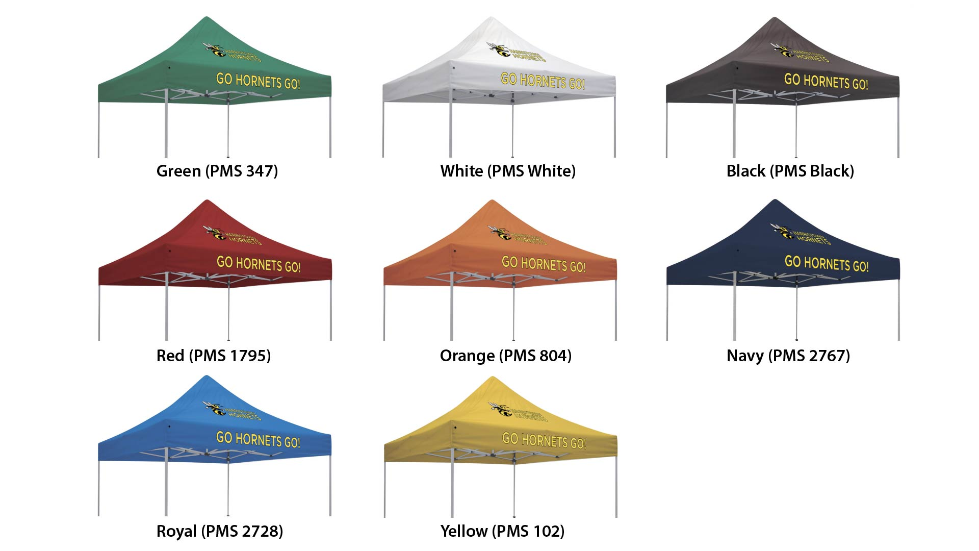 order a custom color canopy event tent