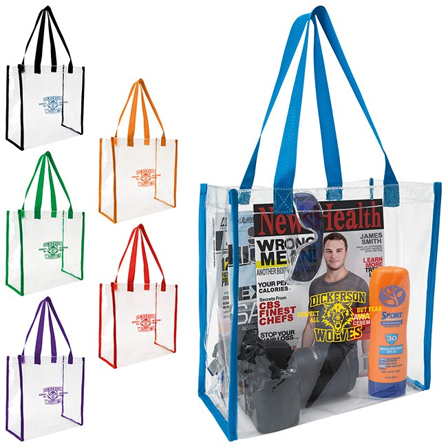 309ef8686fd2 Large Color Accent Tote As low as  3.58 ...