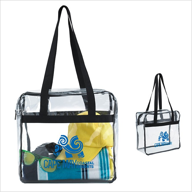 Clear Long Handle Tote As Low 5 00