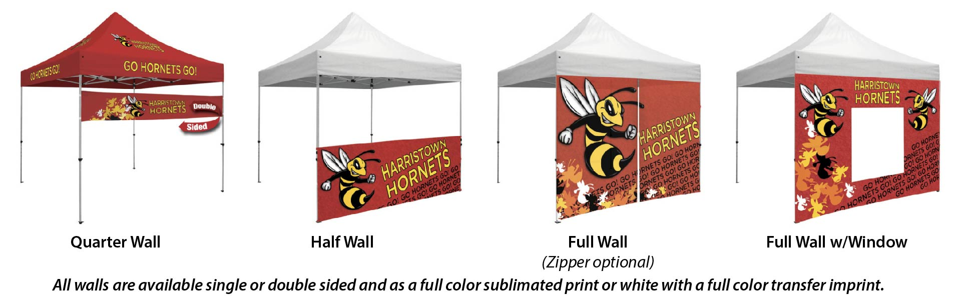 order custom outdoor tent accessories DC