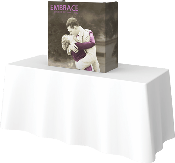 Embrace-2.5'- table top- table top display- display- trade show- local- VA