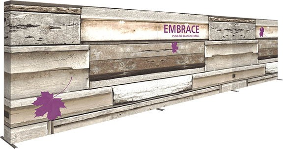 Embrace- push fit- fabric display- back wall- eXpo- eXpobranders- local- VA