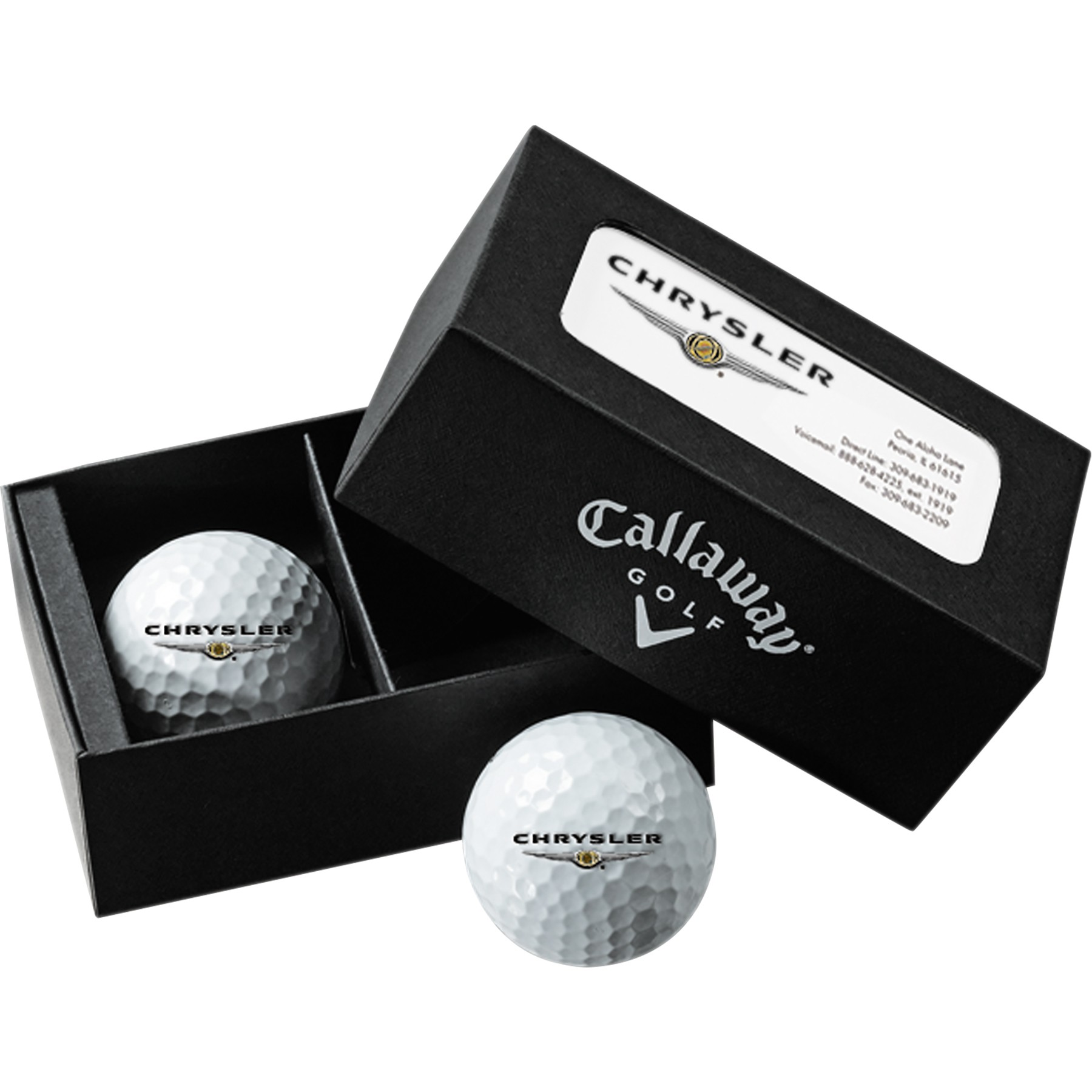 promotional golf ball business card