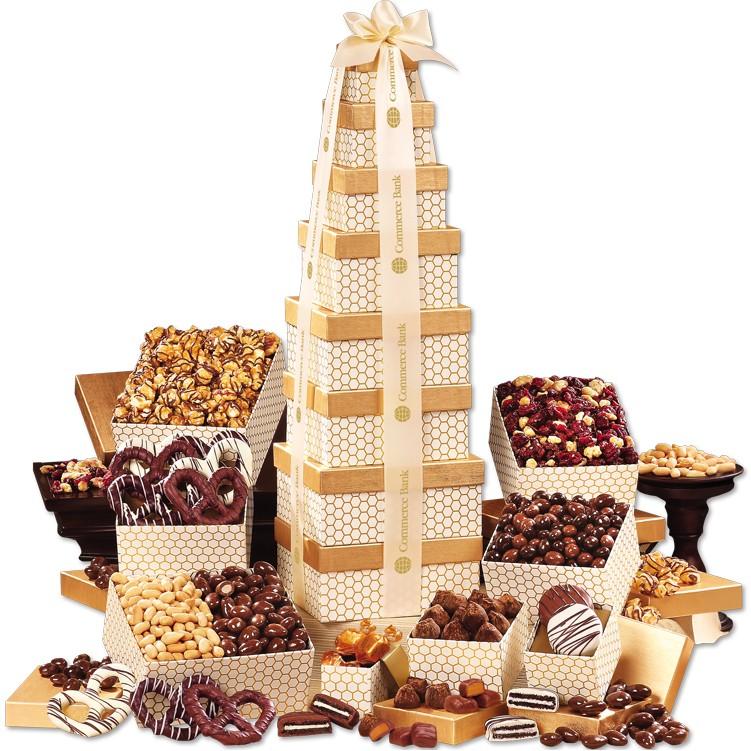 Custom Chocolate Tower