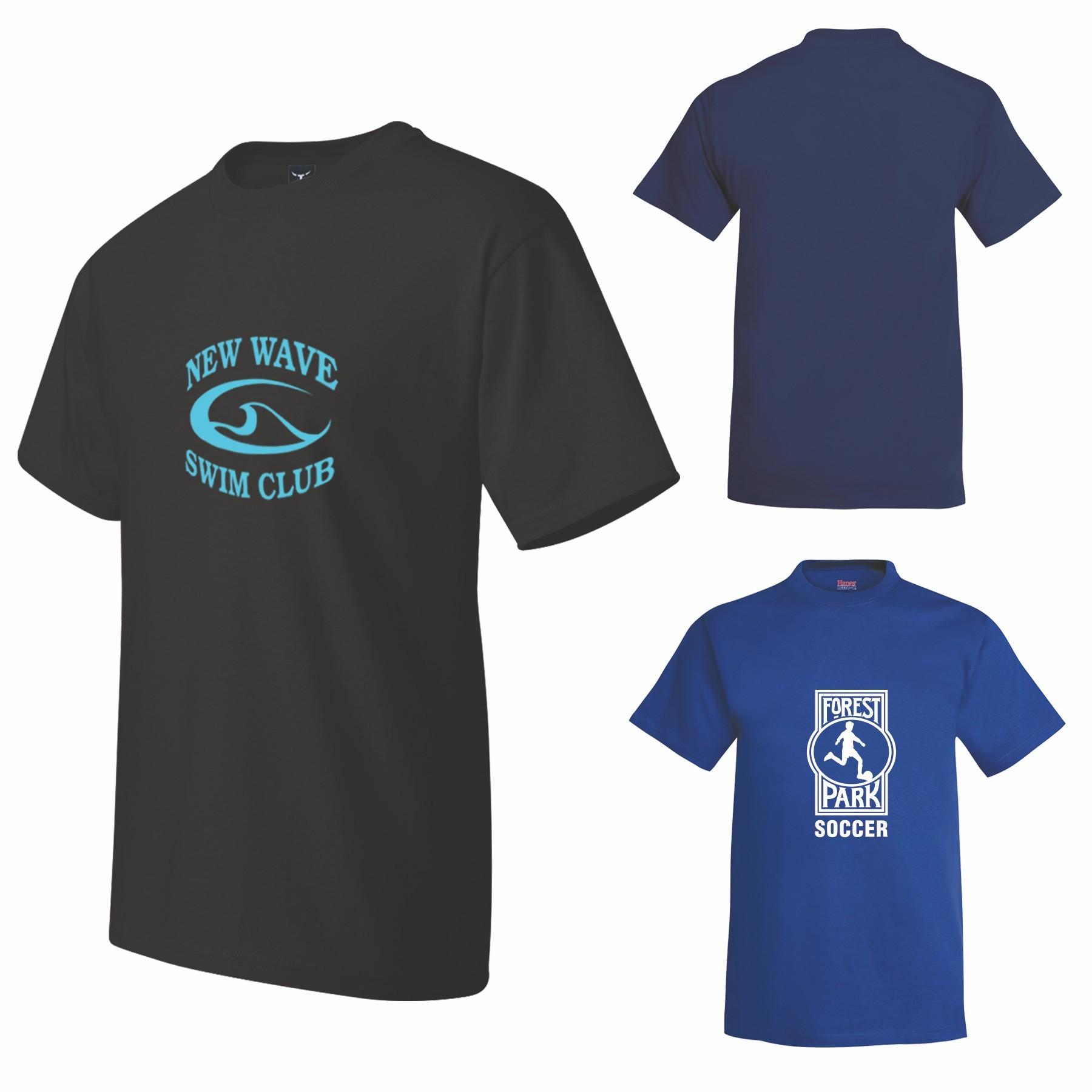 hanes-beefy-t-printed-tshirt