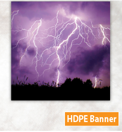weather resistant outdoor banner