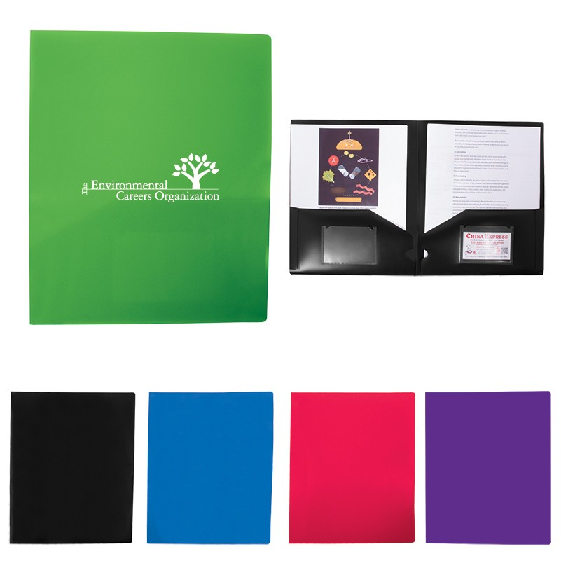 color presentation folder