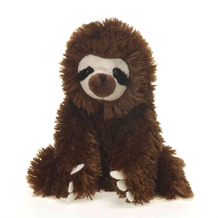 medium customizable stuffed sloth