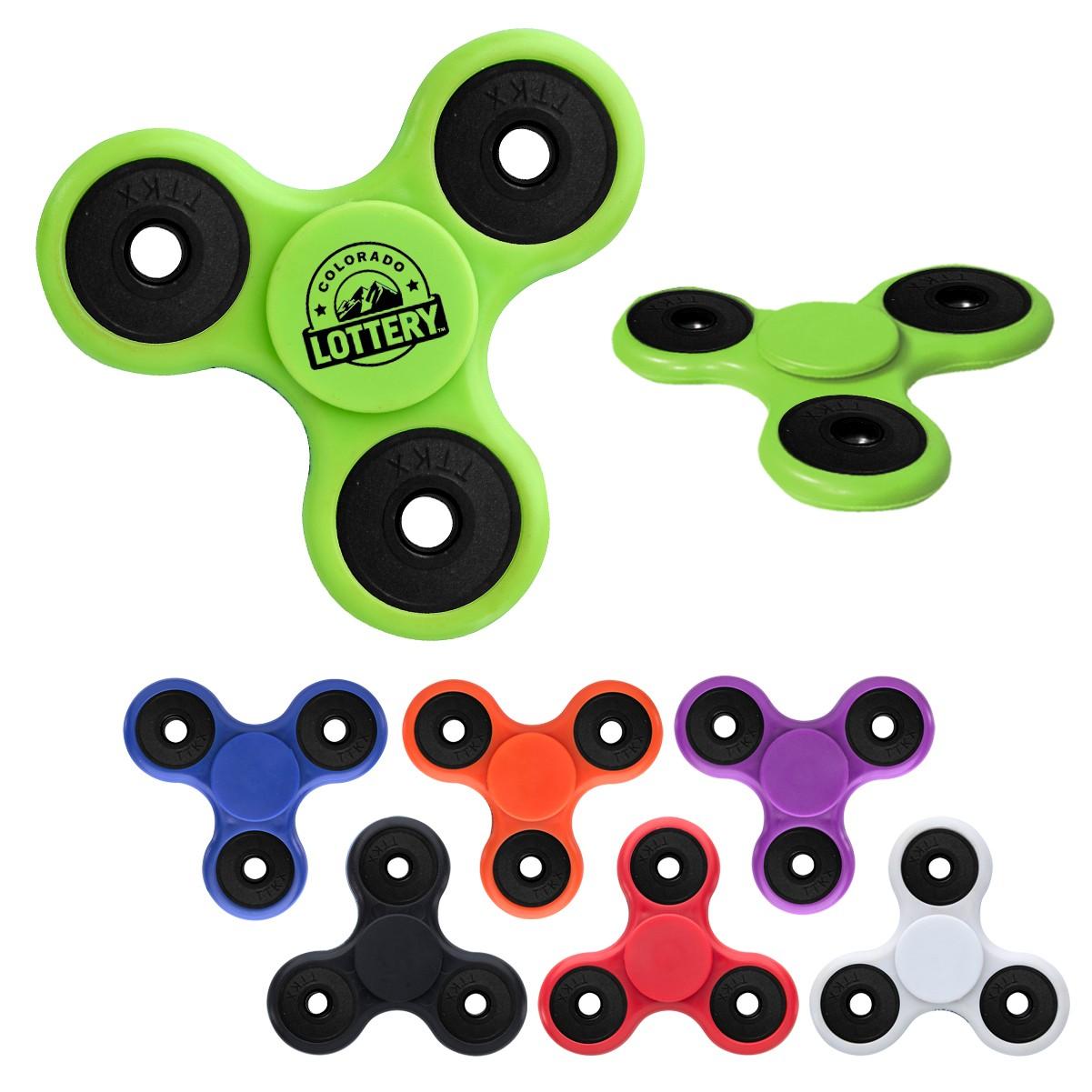 custom logo fidget spinner