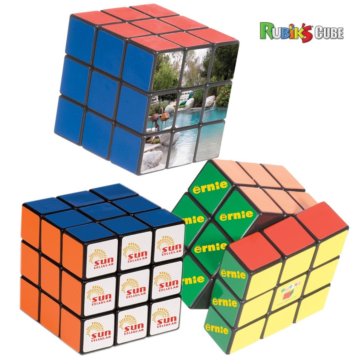 custom logo rubiks cube