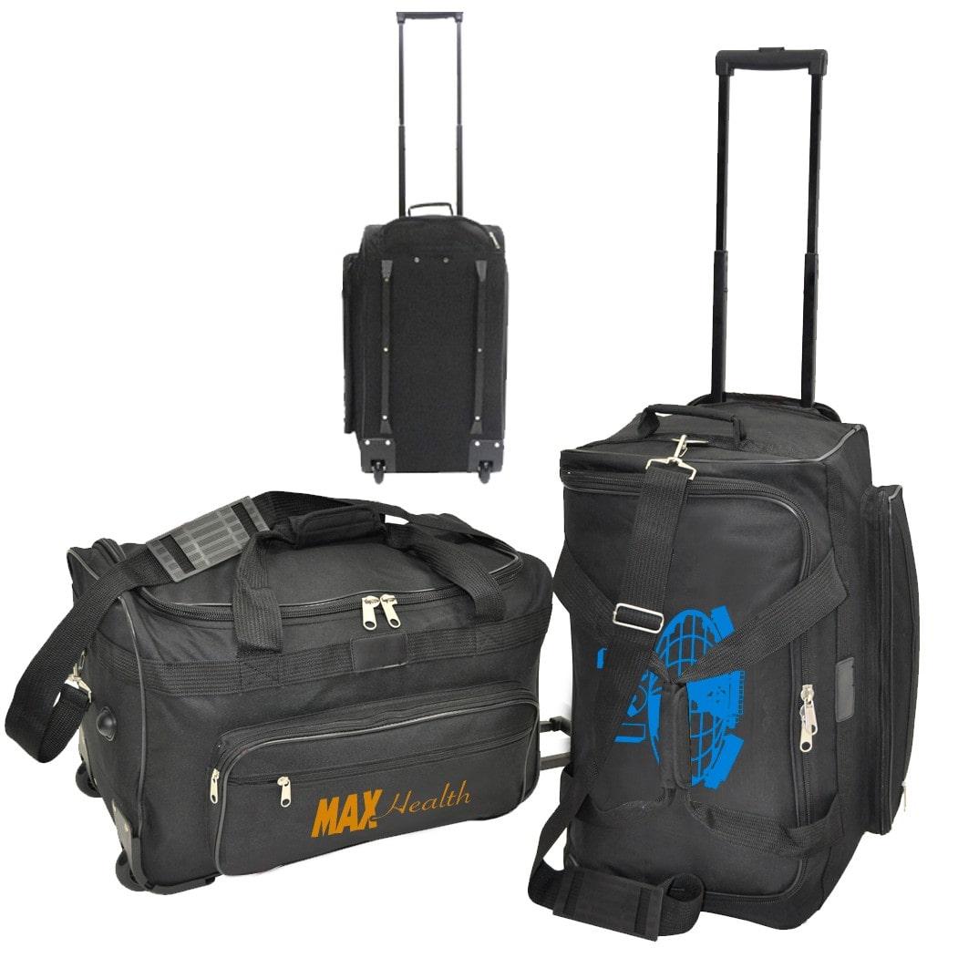 custom printed duffel bag